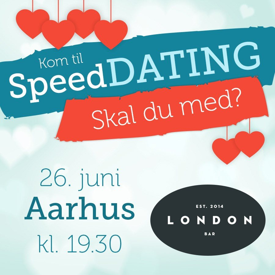 Speed dating i London i aften