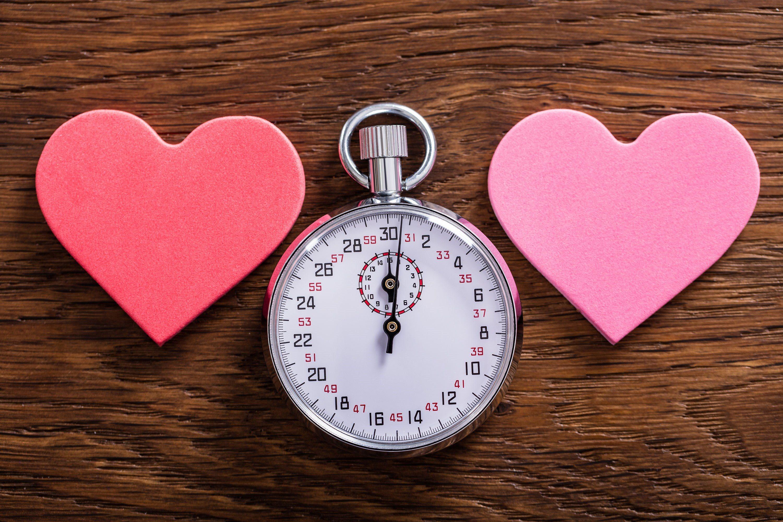 Speed dating reklame